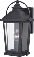 Vaxcel T0540 Lexington Textured Black Exterior Light Sconce