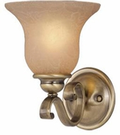 Vaxcel VL35401A-C Monrovia Antique Brass Wall Sconce