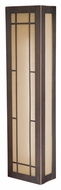 Vaxcel W0022 Oak Park Craftsman Sienna Bronze 6  Tall Wall Lighting