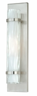 Vaxcel W0048 Vilo Contemporary Satin Nickel Finish 18.5  Tall Wall Mounted Lamp