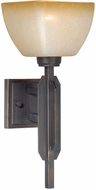 Vaxcel W0112 Descartes II Architectural Bronze Wall Lighting Sconce