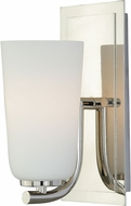 Vaxcel W0116 Napa Modern Polished Nickel Wall Sconce Lighting