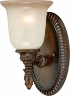 Vaxcel W0126 Parkhurst Traditional Aged Walnut Wall Mounted Lamp