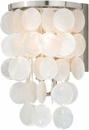Vaxcel W0151 Elsa Satin Nickel Sconce Lighting