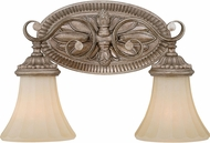 Vaxcel W0155 Avenant Traditional French Bronze 2-Light Bathroom Lighting