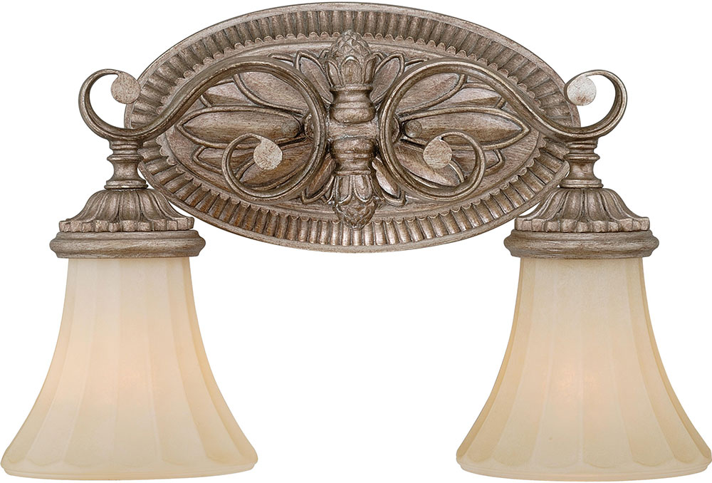 Vaxcel W0155 Avenant Traditional French Bronze 2 Light Bathroom Lighting Loading Zoom