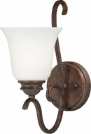 Vaxcel W0161 Hartford Weathered Patina Wall Light Fixture