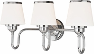 Vaxcel W0206 Kelsy Chrome 3-Light Bath Lighting