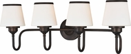 Vaxcel W0209 Kelsy Noble Bronze 4-Light Vanity Lighting