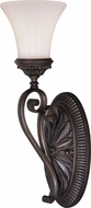 Vaxcel W0301 Avenant Traditional Venetian Bronze Lamp Sconce