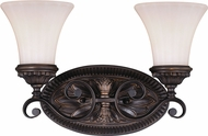 Vaxcel W0302 Avenant Traditional Venetian Bronze 2-Light Bathroom Light