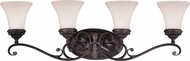 Vaxcel W0304 Avenant Traditional Venetian Bronze 4-Light Vanity Lighting