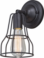 Vaxcel W0311 Clybourn Retro Oil Rubbed Bronze Wall Lighting Sconce