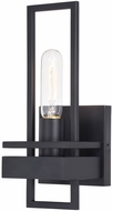 Vaxcel W0345 Marquis Modern Matte Black Wall Sconce Lighting