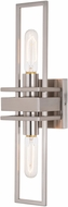 Vaxcel W0346 Marquis Modern Satin Nickel Wall Mounted Lamp
