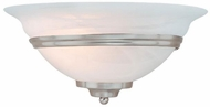 Vaxcel WS8171BN Da Vinci Brushed Nickel Wall Sconce Light