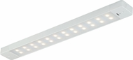 Vaxcel X0001 Instalux Contemporary White LED 24 Motion Controlled Cabinet Lighting