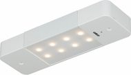 Vaxcel X0005 Instalux Contemporary White LED 8 Motion Controlled Under Counter Lighting