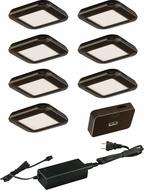 Vaxcel X0034 Modern LED LED Undercabinet Lighting - 7 Light Kit