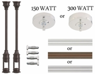 Wilmette Lighting MonoRail and FreeJack Kits and Parts