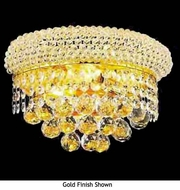 Worldwide 23018 Worldwide 2-light Crystal Style Empire Wall Sconce