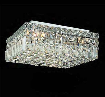 Worldwide 33517 Worldwide 14  5-light Semi-Flush Ceiling Light