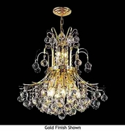 Worldwide 83043 Worldwide 9-light Crystal Style Chandelier Pendant Light