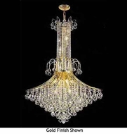 Worldwide 83051 Worldwide 16-light Crystal Chandelier Pendant