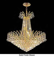 Worldwide 83053 Worldwide Crystal Style Chandelier Pendant Light