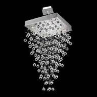 Worldwide 83237 Worldwide Square 20  5-light Crystal Pendant