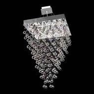 Worldwide 83238 Worldwide Square 24  8-light Crystal Pendant