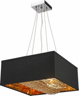 Worldwide CP400MG16 Ritz Gold 16  Hanging Lamp