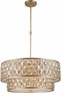 Worldwide CP411MG28-GT Paris Matte Gold 28  Drum Drop Lighting