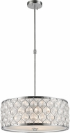 Worldwide CP414C20-CL Paris Polished Chrome 20  Drum Drop Lighting Fixture
