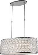 Worldwide CP415C32-CL Paris Polished Chrome Island Lighting