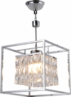 Worldwide CP660C13 Franklin Polished Chrome Halogen Pendant Light Fixture