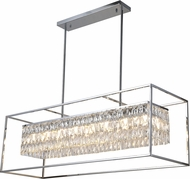 Worldwide CP662C43 Franklin Polished Chrome Kitchen Island Light