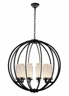 Worldwide CP671BP30 Rondeau Contemporary Antique Bronze LED Pendant Lighting Fixture