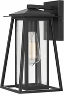 Worldwide E10004-001 Tahoe Modern Black Exterior Wall Sconce