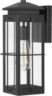 Worldwide E10021-001 Saybrook Black Outdoor Wall Sconce