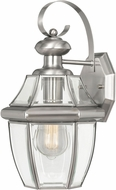 Worldwide E10032-007 Westport Brushed Stainless Steel Exterior 14  Lighting Wall Sconce