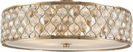 Worldwide FS411CG24-CM Paris Champagne Gold 24  Ceiling Lighting Fixture