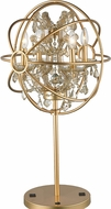 Worldwide TBL190MG18-CL Armillary Matte Gold Table Lighting