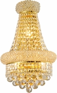 Worldwide W23019G12 Empire Polished Gold Wall Lamp