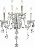 Worldwide W23105C13-CL Provence Polished Chrome Lamp Sconce