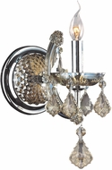 Worldwide W23116C6-GT Maria Theresa Polished Chrome Wall Sconce Lighting