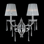 Worldwide W23131C15 Orleans Traditional Style 25 Inch Wide 2 Lamp Wall Sconce