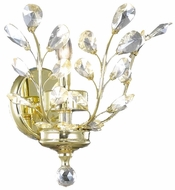 Worldwide W23152G12 Aspen Polished Gold Lighting Wall Sconce