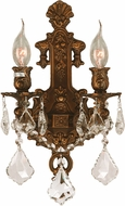 Worldwide W23315FG12 Versailles French Gold Wall Sconce Light