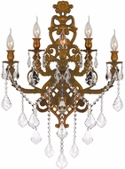 Worldwide W23318FG19 Versailles French Gold Wall Lighting